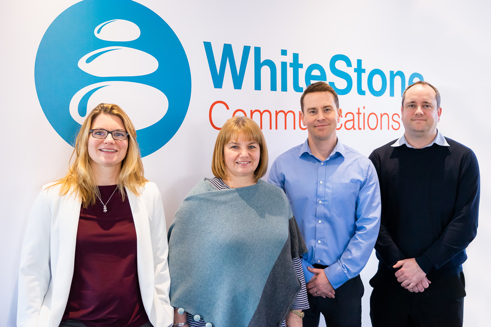 WhiteStone Communications Senior Team Picture